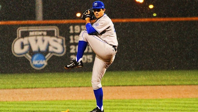 Senior right-hander Sam Alton carried Middle Tennessee to a 3-1 win against Memphis Wednesday night.