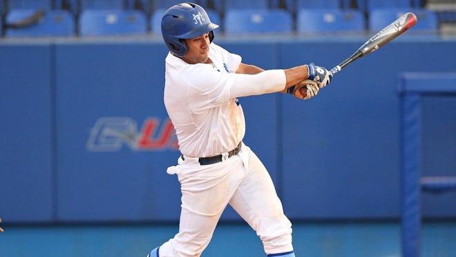 MTSU's Drew Huff has been a major part of MTSU baseball's late season surge.