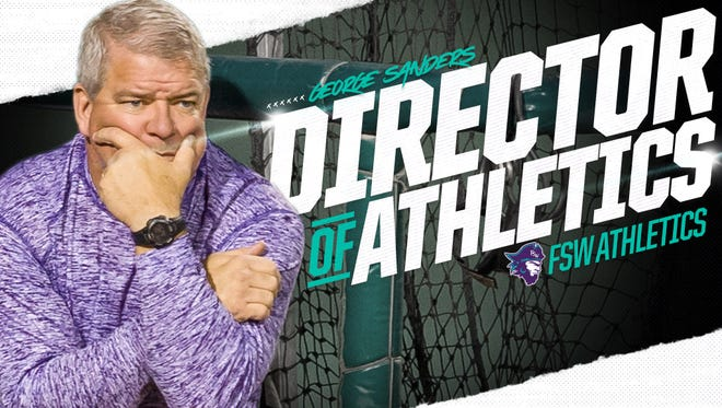 George Sanders, who was hired at Florida SouthWestern in July 2015 and has been serving as the interim athletic director since August 2017, was named the college's permanent athletic director on Tuesday.