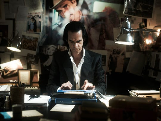 "Nick Cave in the new documentary ""20,000 Days on Earth."""