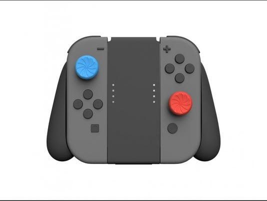 Kontrol Freek Turbo thumbstick grips for Nintendo Switch Joy-Con.