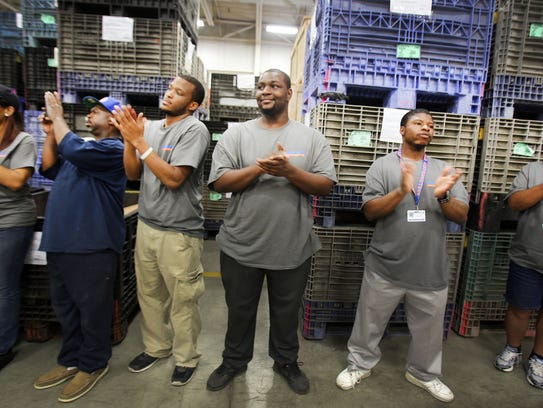 At  Goodwill Industries of Greater Detroit, workers