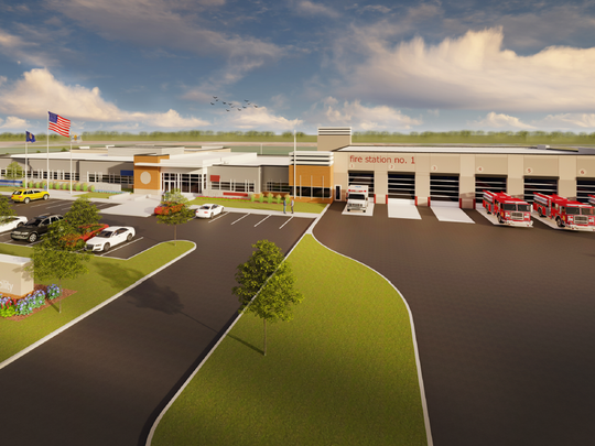 Design plans from HMA Architects for Sartell's new