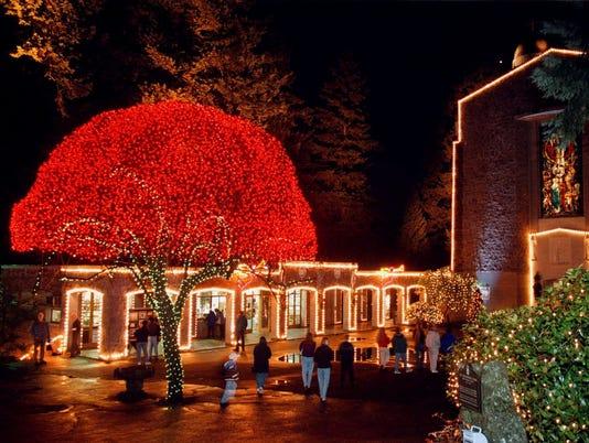 GROTTO CHRISTMAS LIGHTS