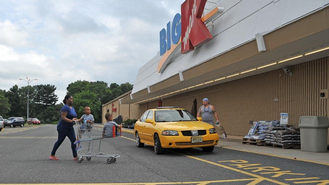 Customers shop at the Vineland Kmart on Delsea Drive Tuesday, the same day an announcement came that the store will close in October.