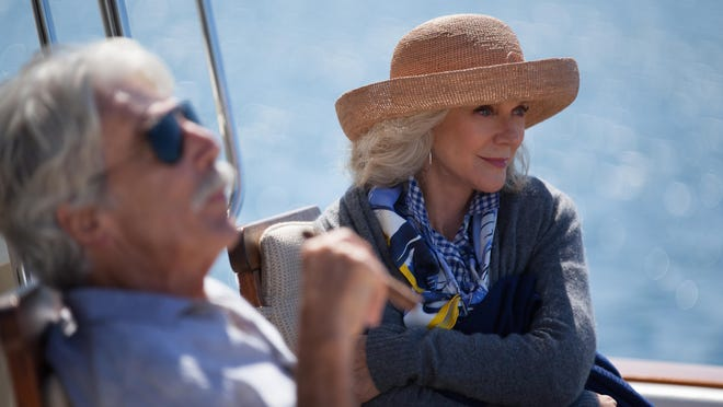 """Sam Elliott, left, as Bill, and Blythe Danner as Carol Petersen in Bleecker Street's new film, """"I'll See You in My Dreams."""" Director and co-writer Brett Haley is a Pensacola native. The film is playing at Carmike Pensacola 15."""