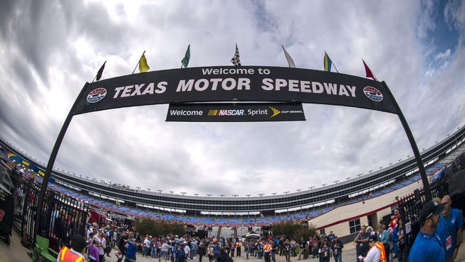 Eddie Gossage, president of Texas Motor Speedway, said it is unlikely the crowd would reach the 67,500 (half-capacity) for Sunday's race.