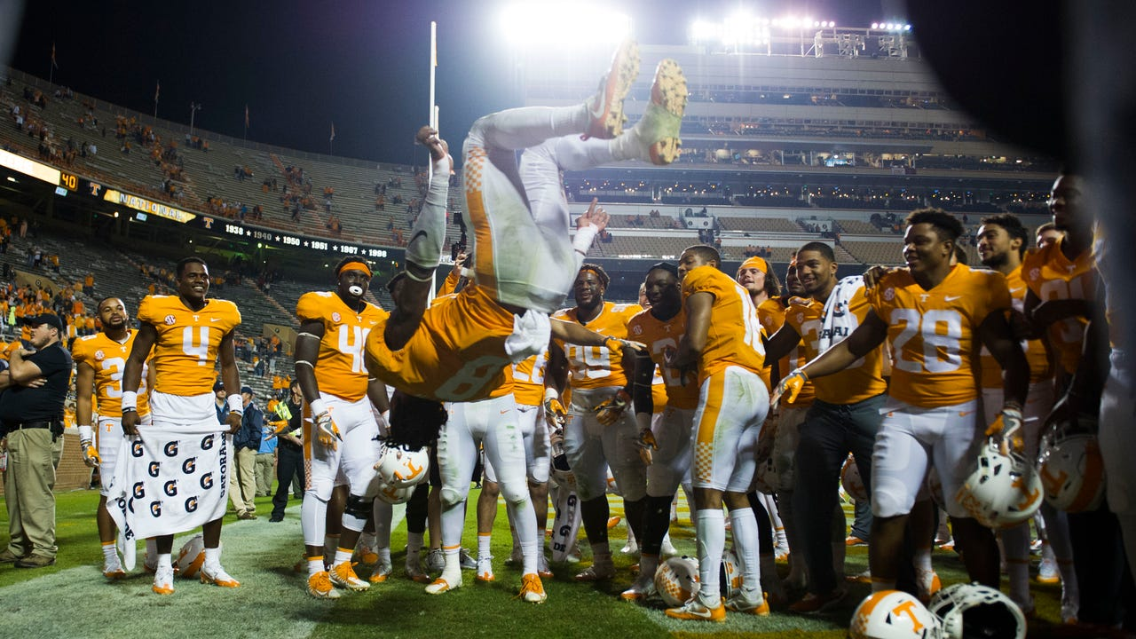 Recap: Vols beat Southern Miss at homecoming