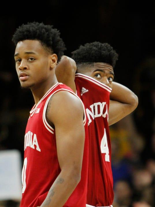 Jok scores 35 points; Iowa beats Indiana in OT 96-90