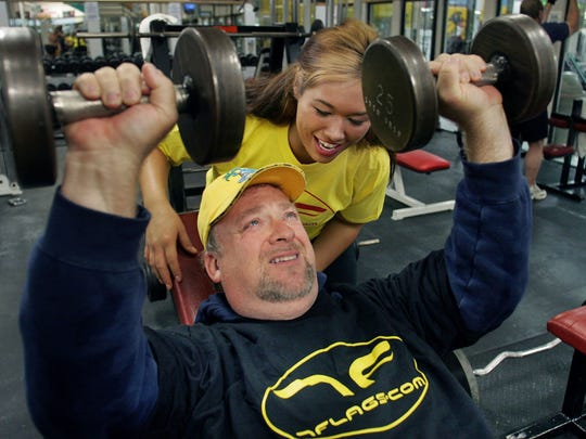 """Steve """"the Round Guy"""" Pilchen tried out to represent Iowa in the second season of NBC-TV's """"The Biggest Loser."""""""