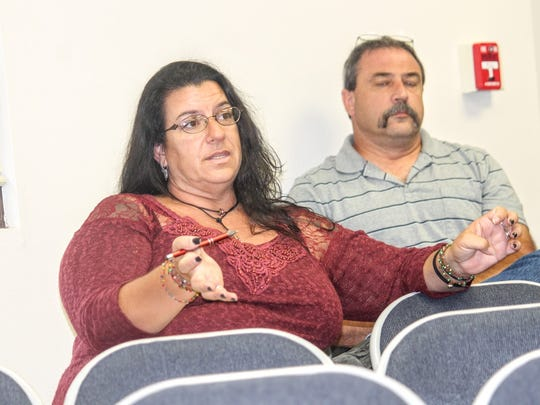 Lori Bies, presumptive Commissioner of District 3, discussed alternatives for the Feral Hog Program during the latest commission meeting Thursday, Sept. 8.
