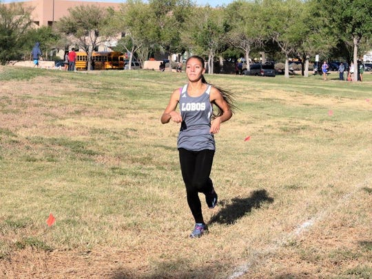 Mt. View senior Michelle Estrada will run in her fourth