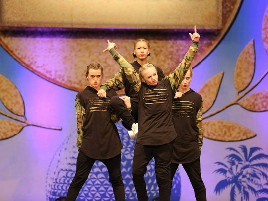 Hendersonville High School's Golden Girls returned from the UDA National Dance Team Championship with fourth place in hip hop.