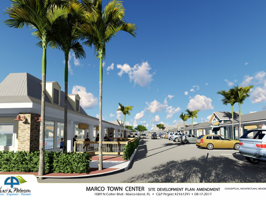 Marco Town Center rendering