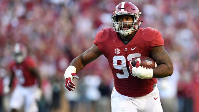 Jonathan Allen and Alabama are giving every one of their matchups an air of inevitabliity. But is that a problem?