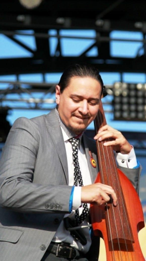Santa Cecilia bassist.