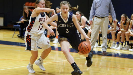 Putnam Valley defeated Briarcliff 48-43 in a girls