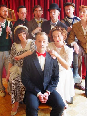 "Windfall Theatre performs the musical ""By Jeeves"" through May 20 at Village Church Arts, 130 E. Juneau Ave."