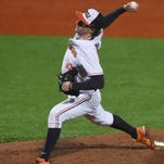 Oregon State's Andrew Moore has been named a second team All-American by Louisville Slugger.