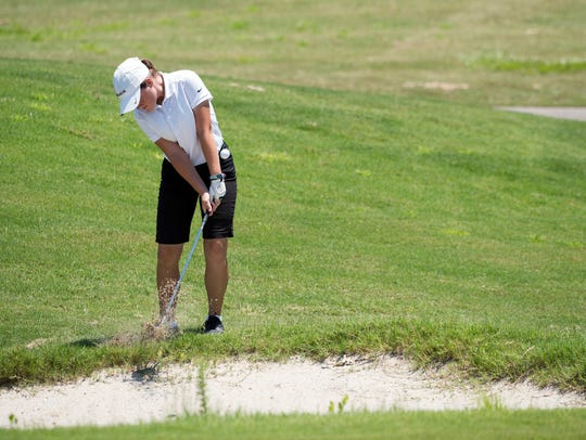Niceville High's Madison Tenore, who will be a sophomore this year and shown playing in 2017 Divot Derby, became a repeat winner Wednesday in the 61st annual tournament.
