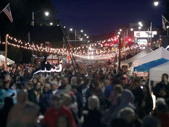 Bazaar After Dark night markets have welcomed thousands of people to city streets around the Fox Cities in recent years.