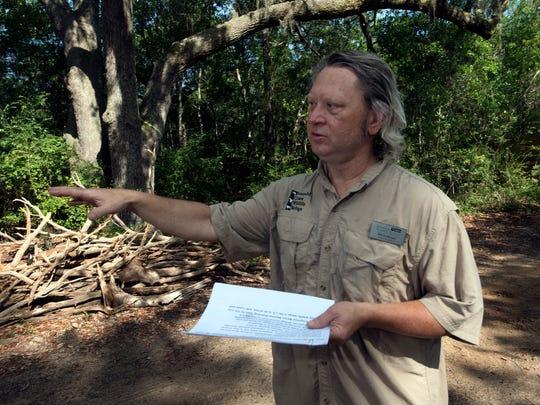 Emerald Coast Wildlife Refuge Board President, Bill