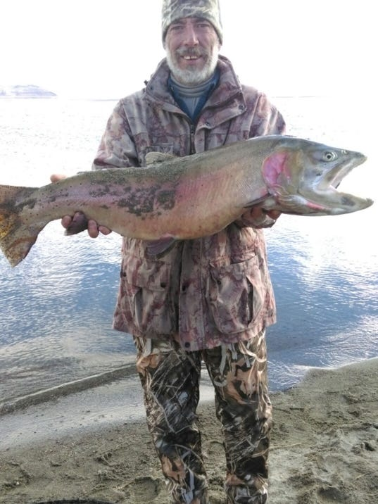 Fishing report for jan 7 for Seven b s fishing report