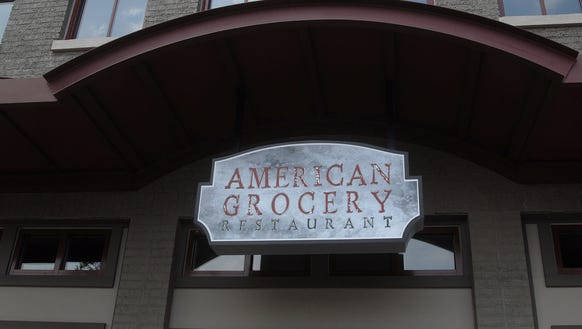 On S. Main St. The American Grocery Restaurant.