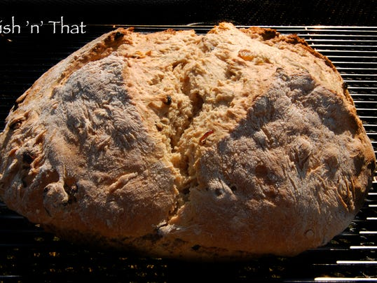 Irish Soda Bread is a must for a St. Patrick's Day meal.