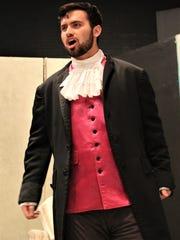 """Aaron Hunt is Figaro in """"The Marriage of Figaro,"""" HSU's"""