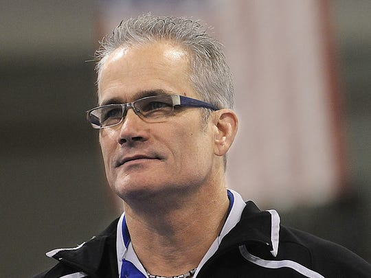 John Geddert, 60, of Grand Ledge, Michigan, is a one-time U.S. Olympic women's gymnastics coach and long-time friend and associate of Larry Nassar.