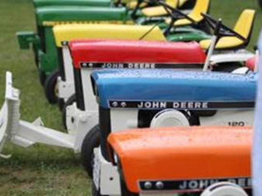 Thousands of John Deere fans are expected to attend the Weekend of Freedom Machines celebrating the 50th anniversary of the hydro-powered lawn and garden tractors originally built by Deere and Company, July 27-29.
