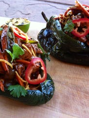 Chef Matt's Kung Pao Chili Relleno