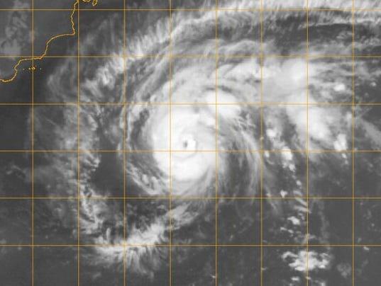 cyclone heading towards Arabia