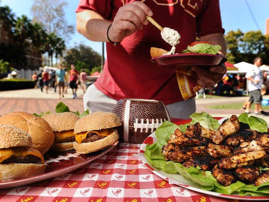 When it comes to tailgate parties, get your head in the game