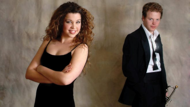 Jaimee Paul and her husband Leif Shires will perform live in concert at 7:30 p.m. at the Ashmore Fine Arts Auditorium.