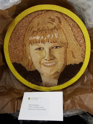 Organ donor Jennifer Spurgeon will be honored in the 2016 Rose Parade on New Year's Day as one of 60 floragraphs —organic material portraits of donors — that will adorn the 2016 Donate Life Rose Parade float.