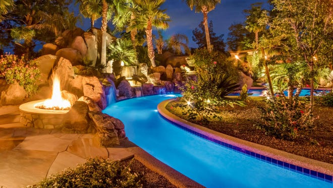 A 15,000-square-foot mansion with a 3,000-bottle wine cellar and 150,000-gallon lazy river in the heart of Paradise Valley can be yours for a cool $18 million.