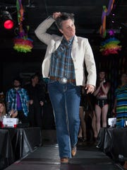Members of the community perform at a benefit drag show to raise funds for the treatment of Linda Stay, a prominent figure in the city and the LGBT community. Wednesday, June 10, 2015.