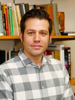 Richard E. Mattson, Ph.D., director of graduate studies in Psychology in his office at Binghamton University on Thursday, November 30, 2017.