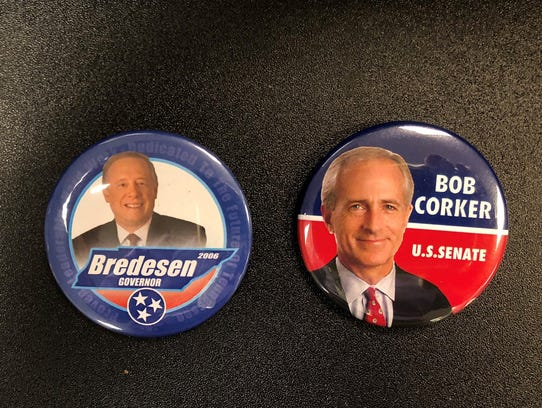 Historic campaign buttons: Phil Bredesen for Governor