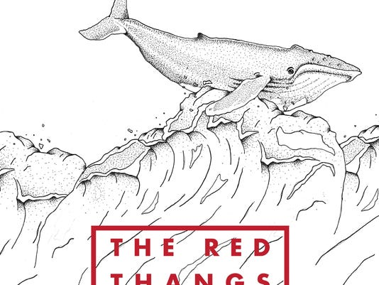 the red thangs album art