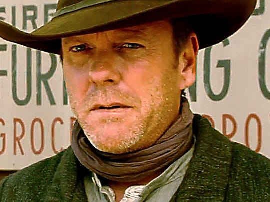 "Keifer Sutherland has ""Forsaken"" his old gunslinger ways and returns home minus his six-shooters – a decision he'll come to regret."
