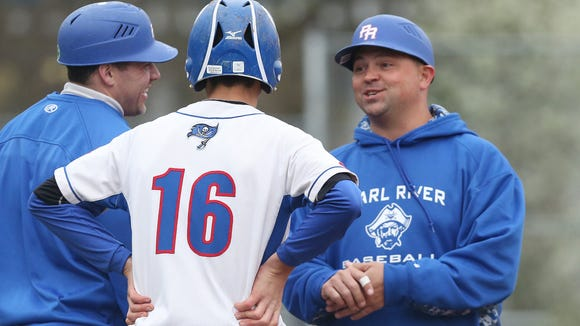 Pearl River defeated Nyack 12-0 in boys baseball action