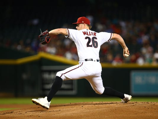 MLB: San Diego Padres at Arizona Diamondbacks