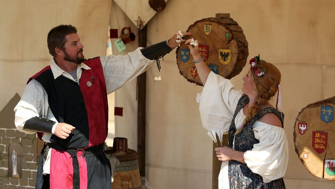 Take part in all types of entertainment at the Shrewsbury Renaissance Fair Sept. 10-11 in Kings Valley.