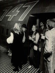 Patrons at Club 747, a disco that opened in 1977.