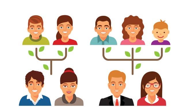 A family tree.