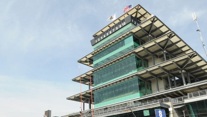 On Tuesday, the Indianapolis Motor Speedway Pagoda played host to John Green's Verizon IndyCar fantasy league draft.