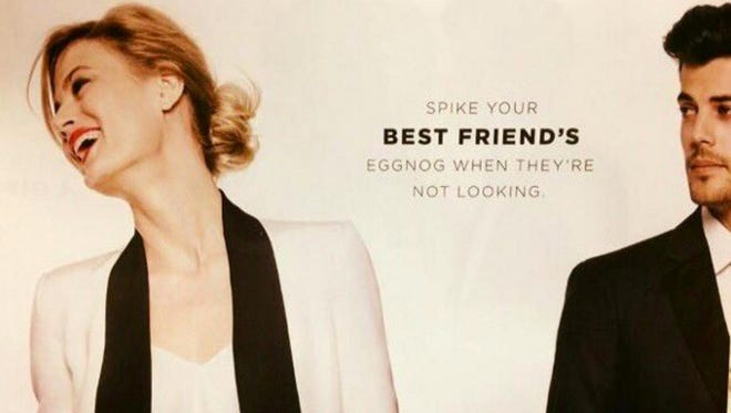 Bloomingdale's apologized on Tuesday for an advertisement that some said made light of date rape.